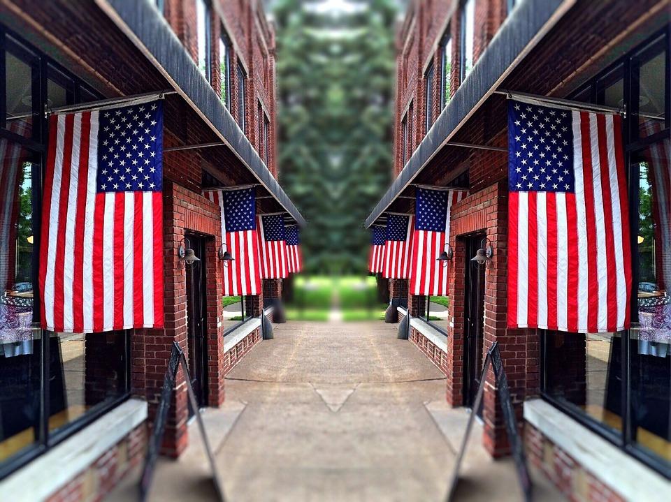 Independence, Patriotic, American, Stripes, Stars, Usa