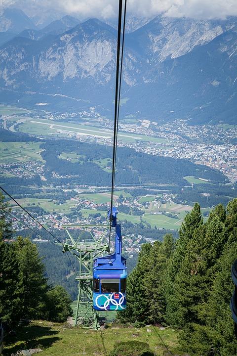 Patscherkofelbahn, Innsbruck, Tyrol, Austria