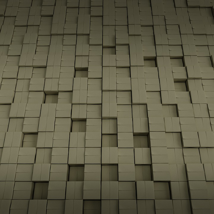 Boxes, Cube, Pattern, Pavement, Abstract, Square
