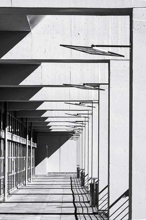 Architecture, Concrete, Brutalism, Design, Pattern