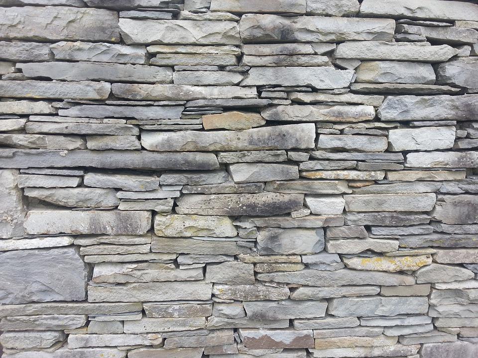 Flagstone, Wall, Stone, Back, Pattern, Texture