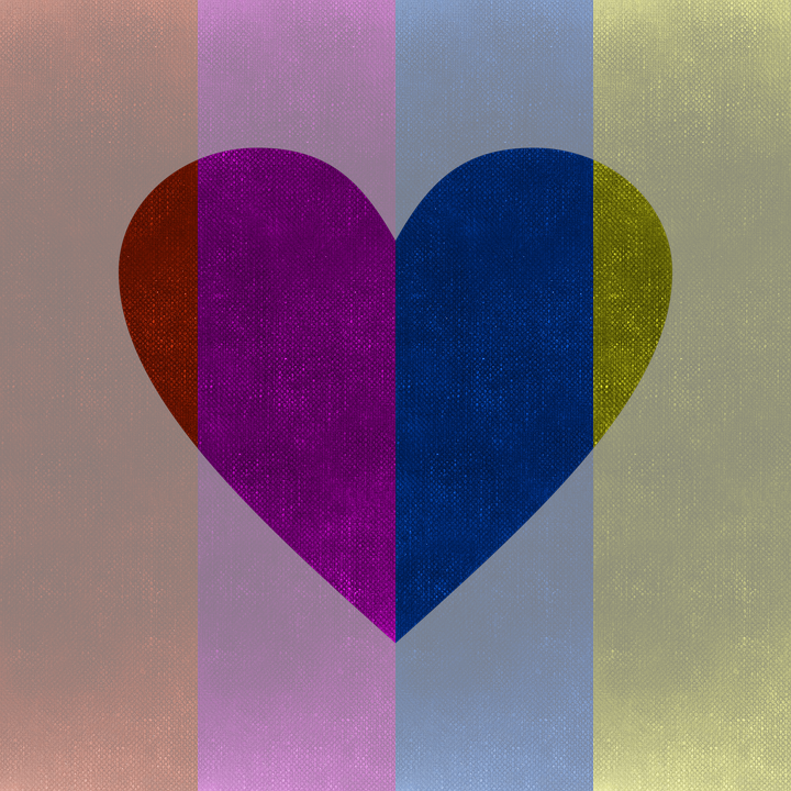 Background, Colorful, Heart, Pattern