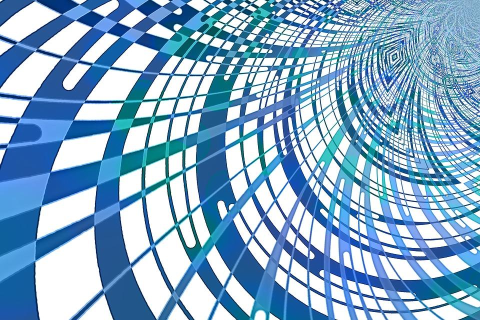 Network, Futuristic, Pattern, Geometric, Contemporary