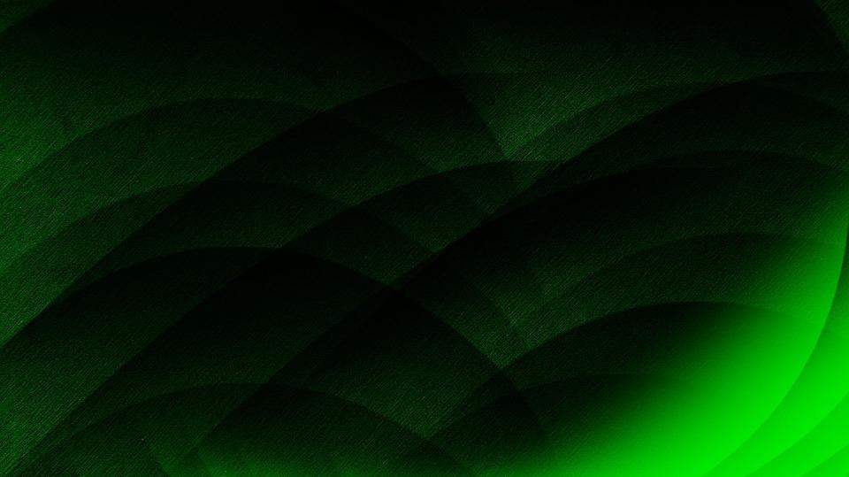 Green, Abstract, Leaf, Background, Pattern, Dark
