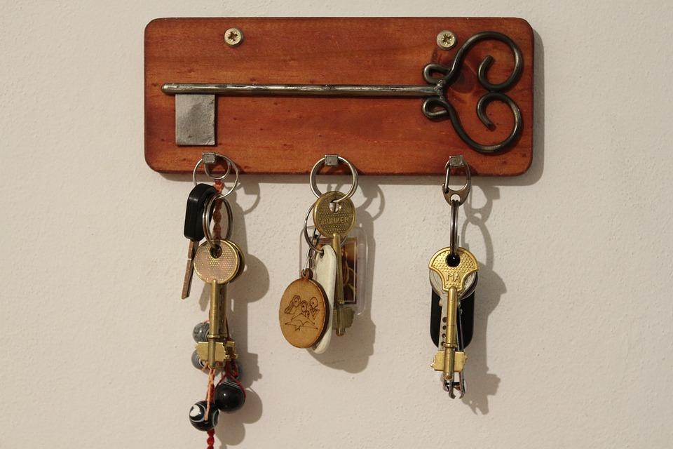 Key, Door, Metal, Deco, Security, Symbol, Old, Pattern