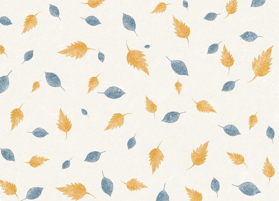 Background, Pattern, Leaves, Texture, Design, Wallpaper