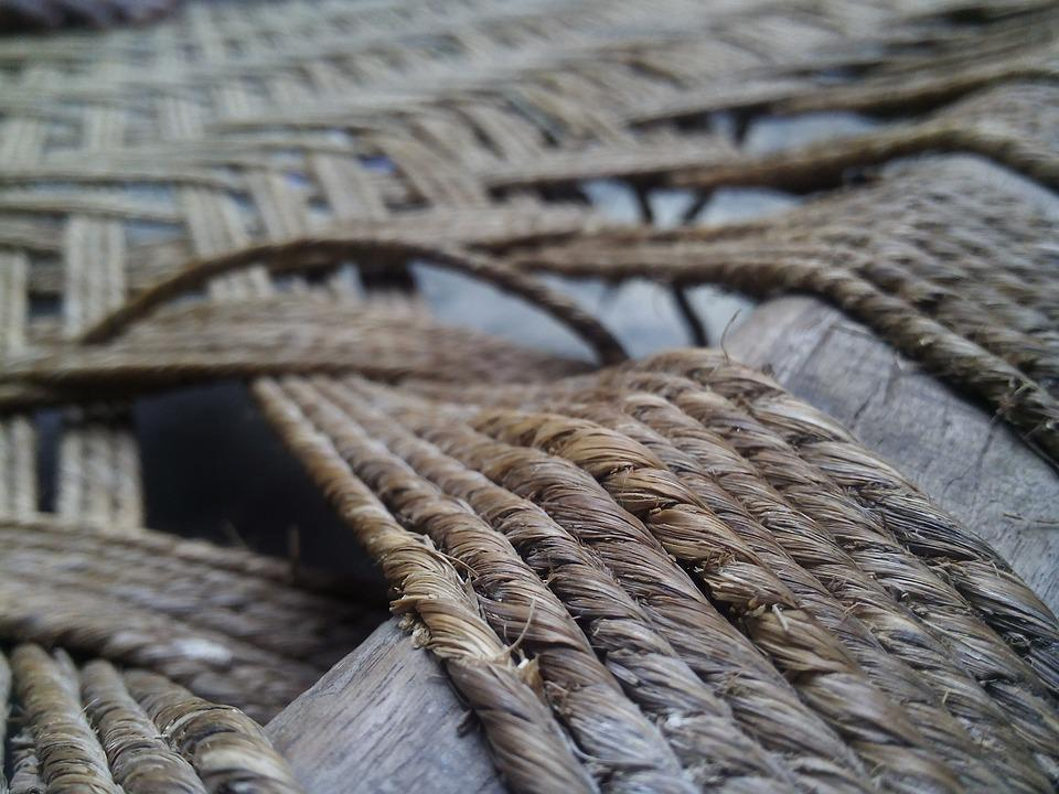 Rope, Old, Pattern, Knot, Texture, Line, Strand, Detail