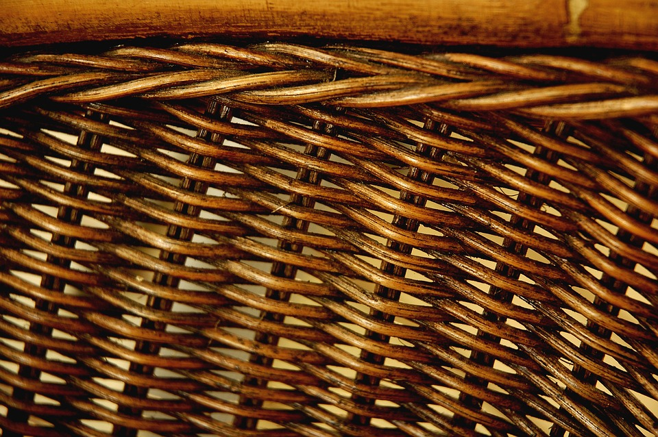 Background, Brown, Pattern, Wicker, Outdoor, Textured