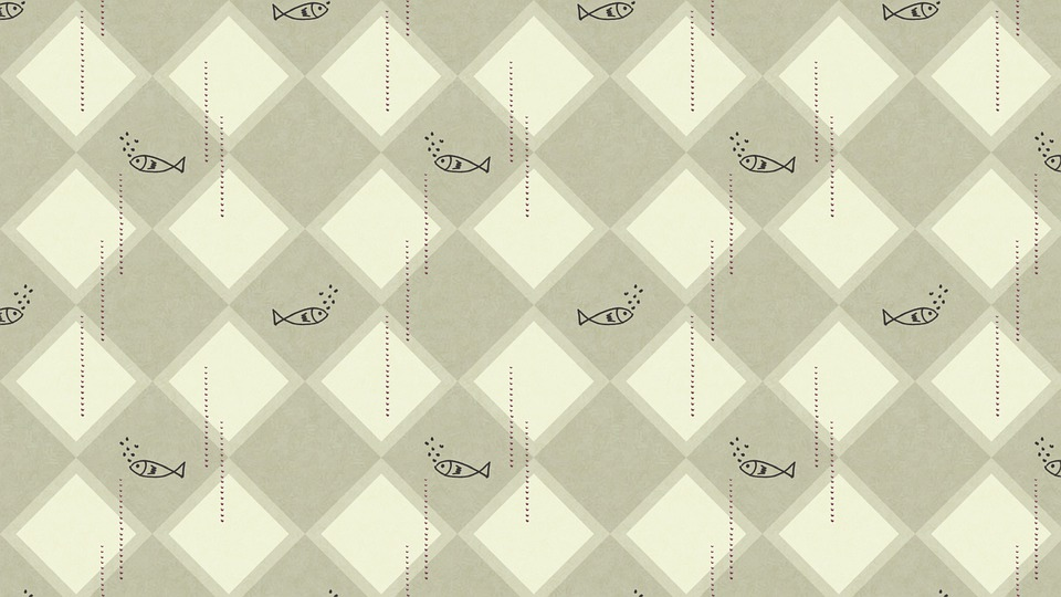 Fish, Rhombus, Pattern, Geometric, Sea, Ocean