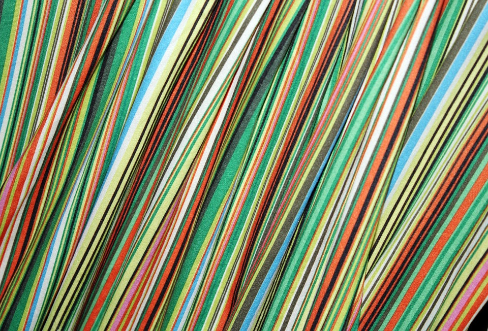 Stripe Colorful Cloth, Stripe, Pattern, Background