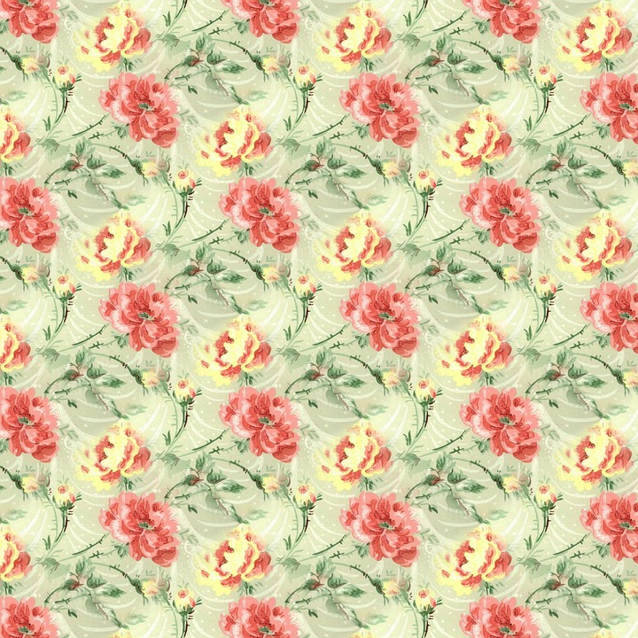 Flower, Wallpaper, Pattern, Floral, Textile