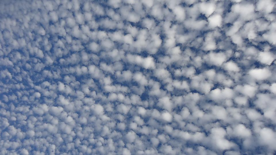 Clouds, Cloud, Sky, Blue, Austria, Top, Pattern