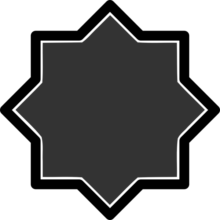 Black, Star, Shapes, Patterns, Abstract, Geometric