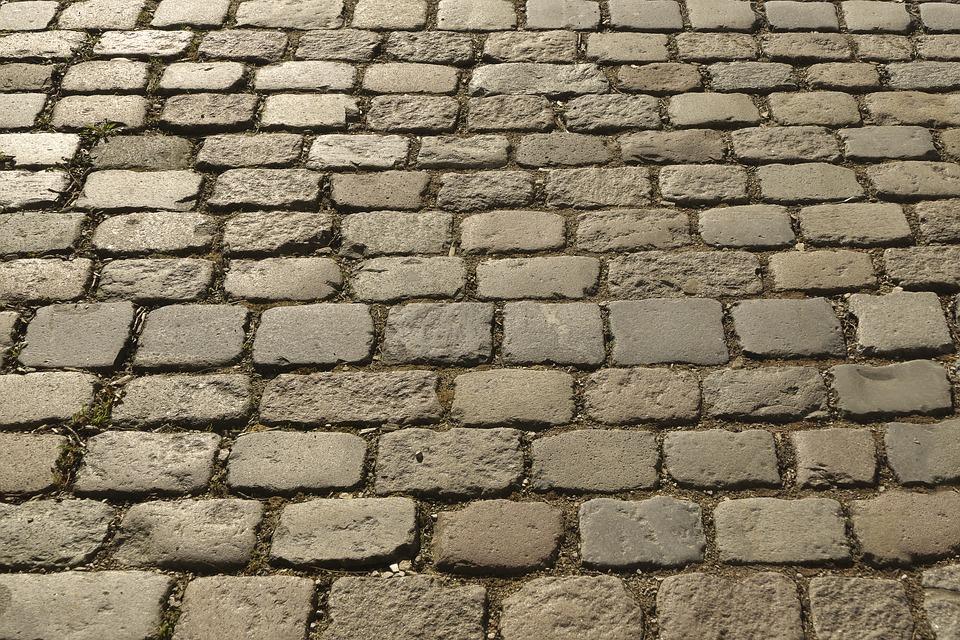 Cobblestones, Paving Stones, Historically, Patch, Paved