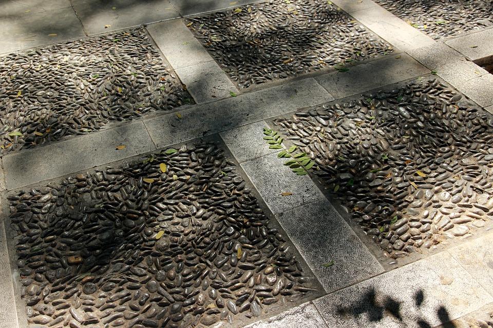 Pavement, Pebble, Stones, Pebbles, Away