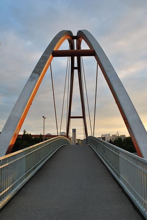 Bridge, Architecture, Prague, Pavement, Concrete