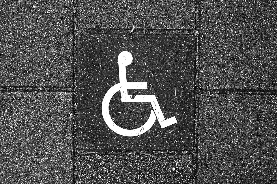 Wheelchair, Vehicle, Pavement, Tile, Alert, Pictograph