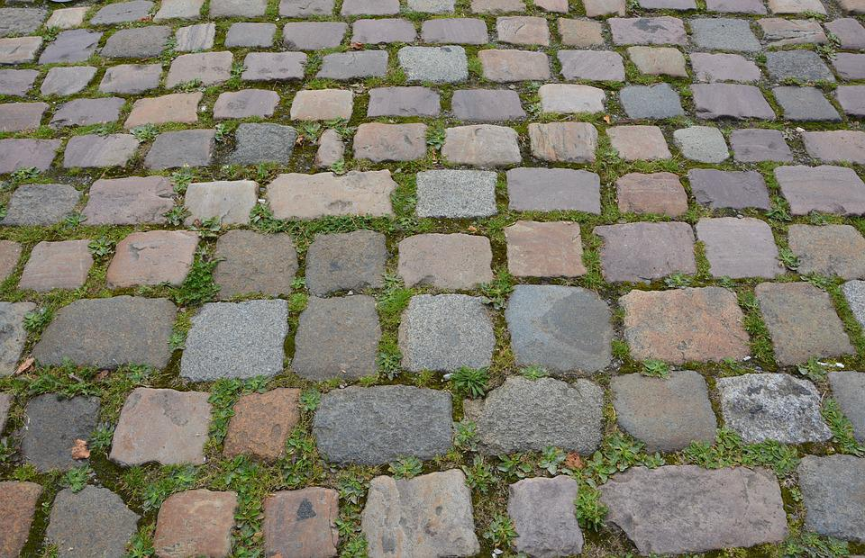 Road Pavers, Road Pedestrian, Pavers, Stones