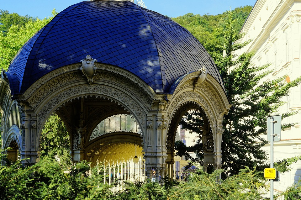 Pavilion, Winter Garden, Art Nouveau, Baroque