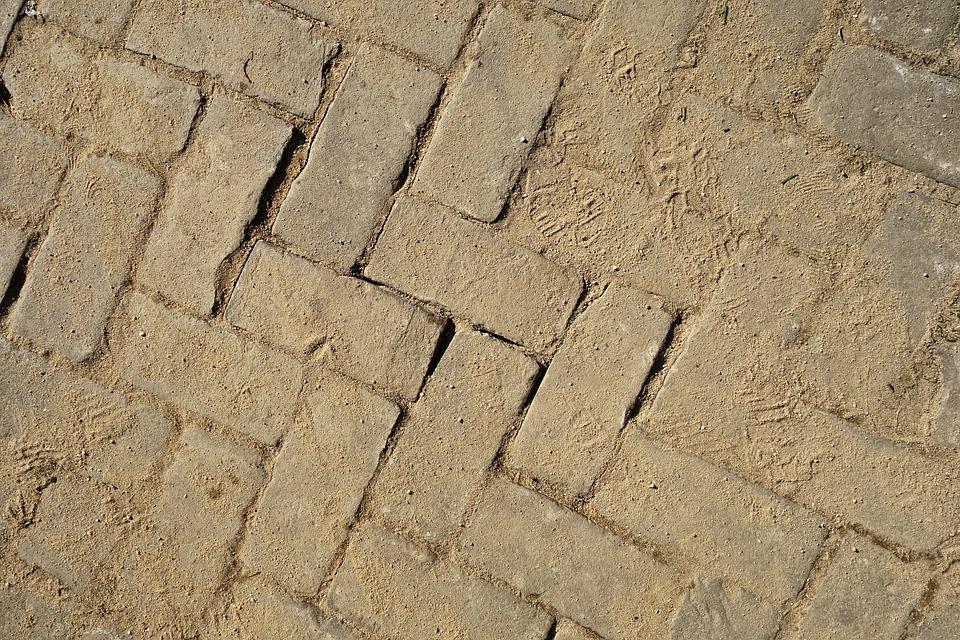 Paving, Street, Road, Brick, Brickwork, Bricklaying