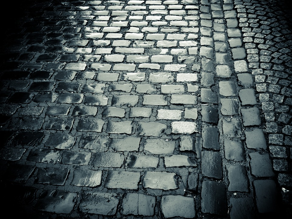 Cobblestones, Road, Paving Stones, Old Town, Pavement