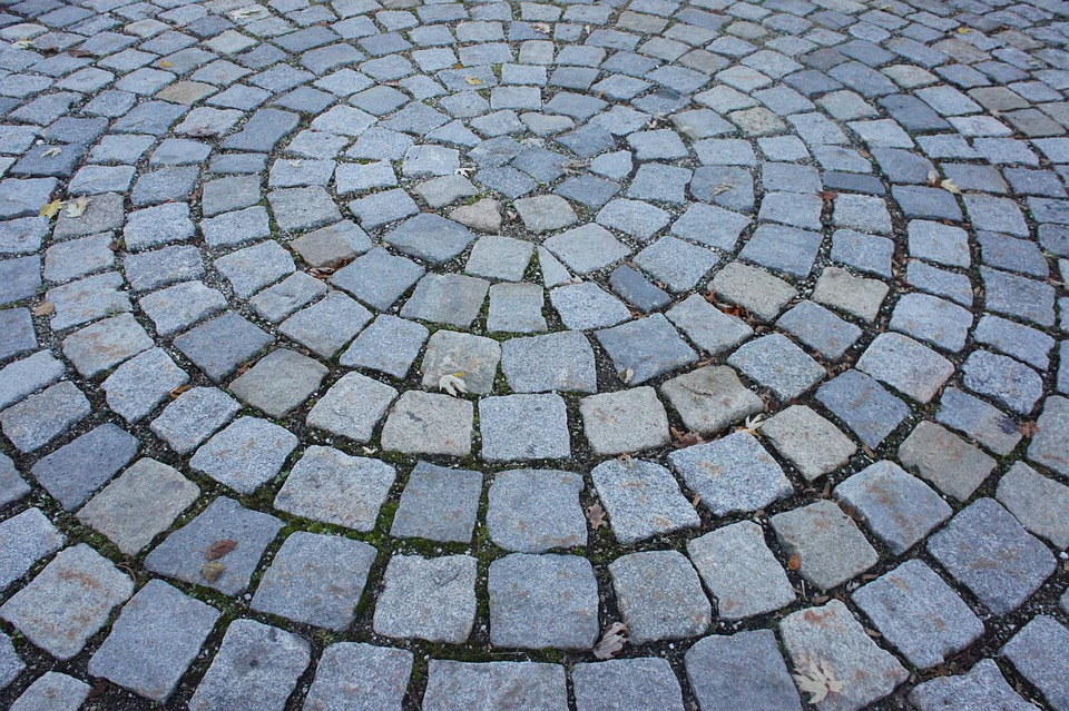 Paving Stones, Structures, Ground, Road, Pavement