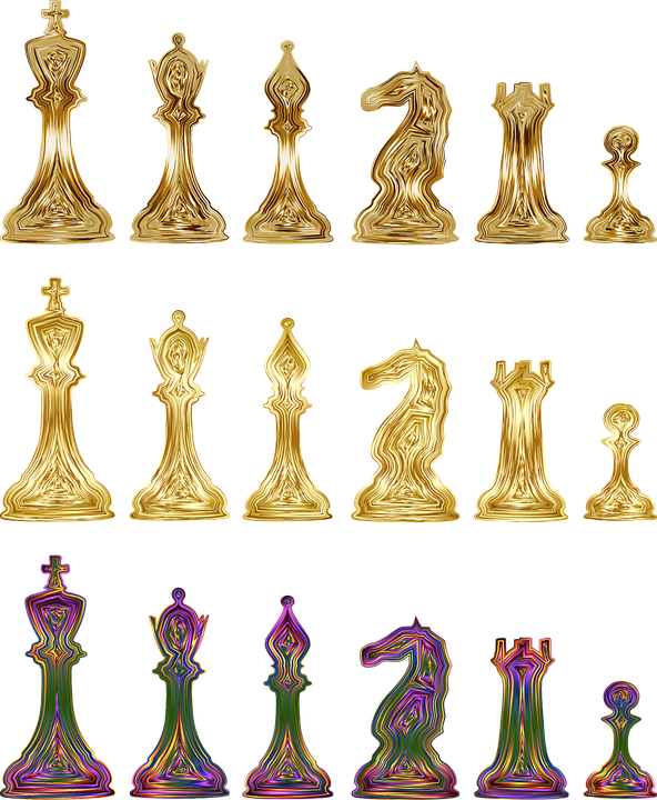 Chess, Game, Pieces, Bishop, King, Knight, Pawn, Play