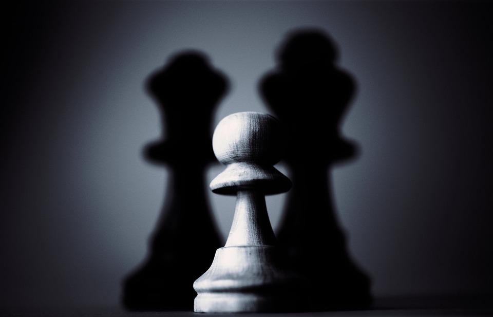 Chess, Dark, Light, Pawn, Shadow, Strategy