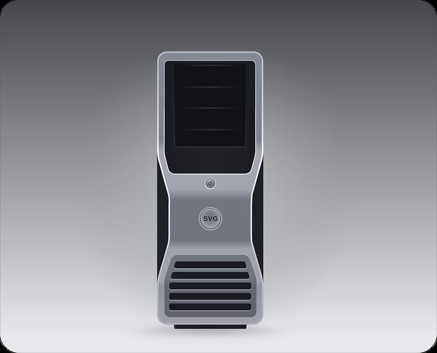 Computer, Pc, Server, Workstation, Pc Hardware, Drawing