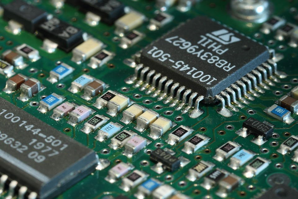 Pcb, Printed, Circuit, Board, Components, Electronic