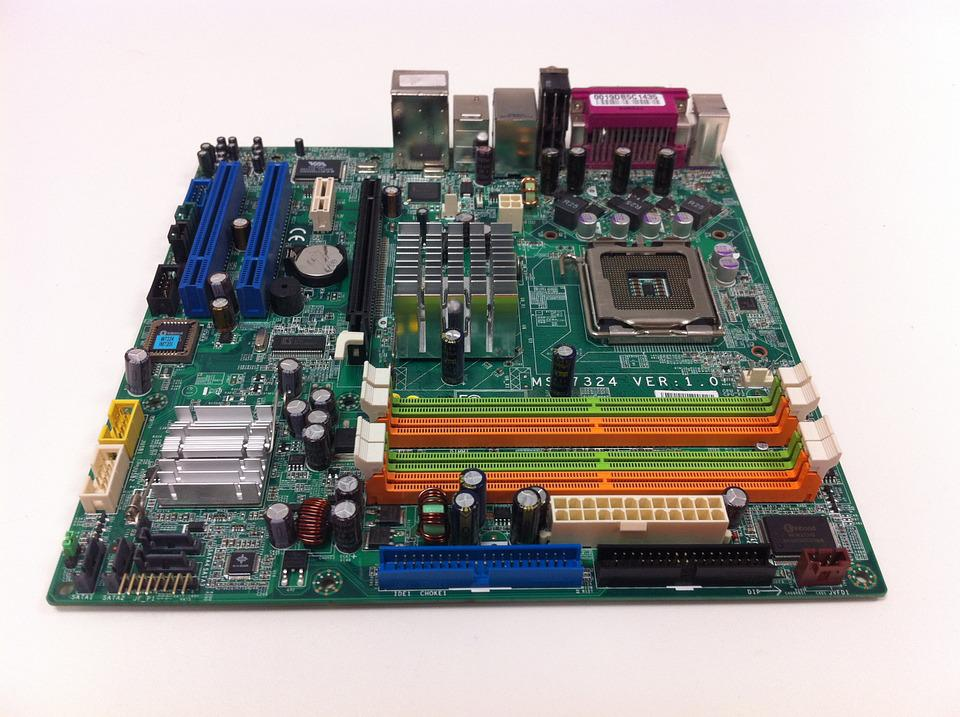 Free photo Pcb Computer Motherboard - Max Pixel