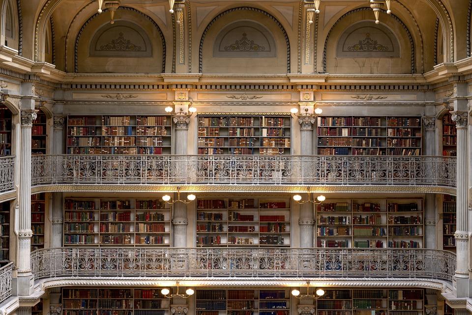 George Peabody Bücherei, Peabody Institute, Baltimore