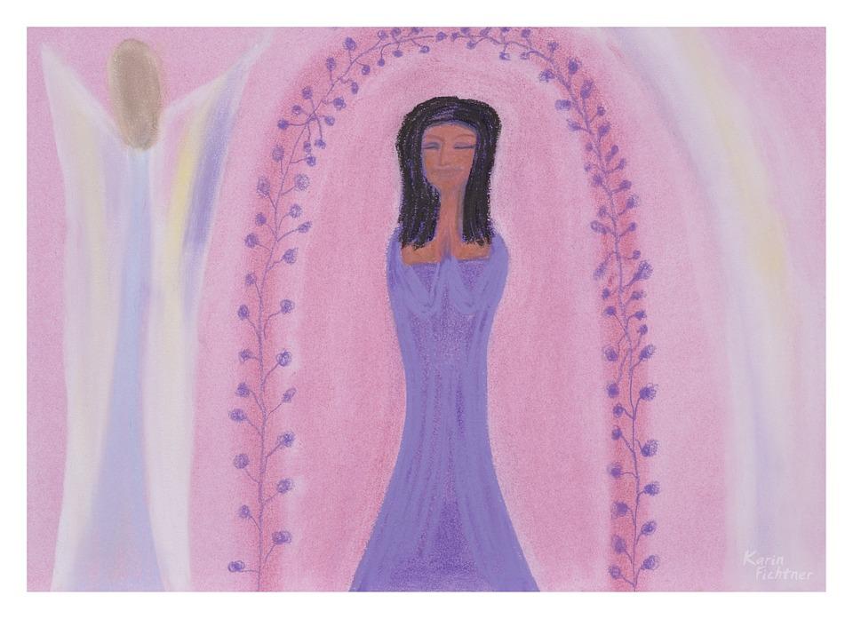 Barbie, Drawing, Painting, Image, Angel, Love, Peace