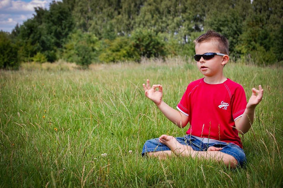 Meditation, Boy, Nature, Zen, Child, Peace Of Mind
