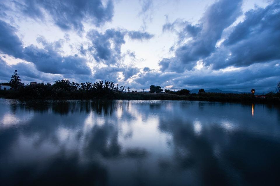 Nature, Peace, Serenity, Sunset