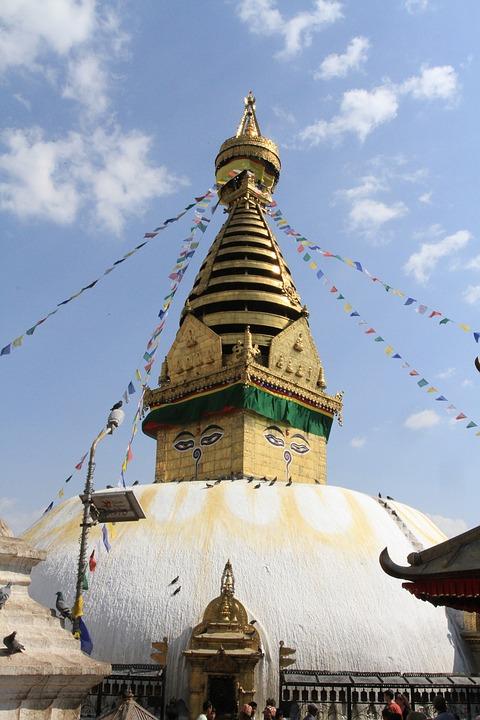 Buddha, Stupa, Nepal, Swayambhu, Kathmandu, Peace