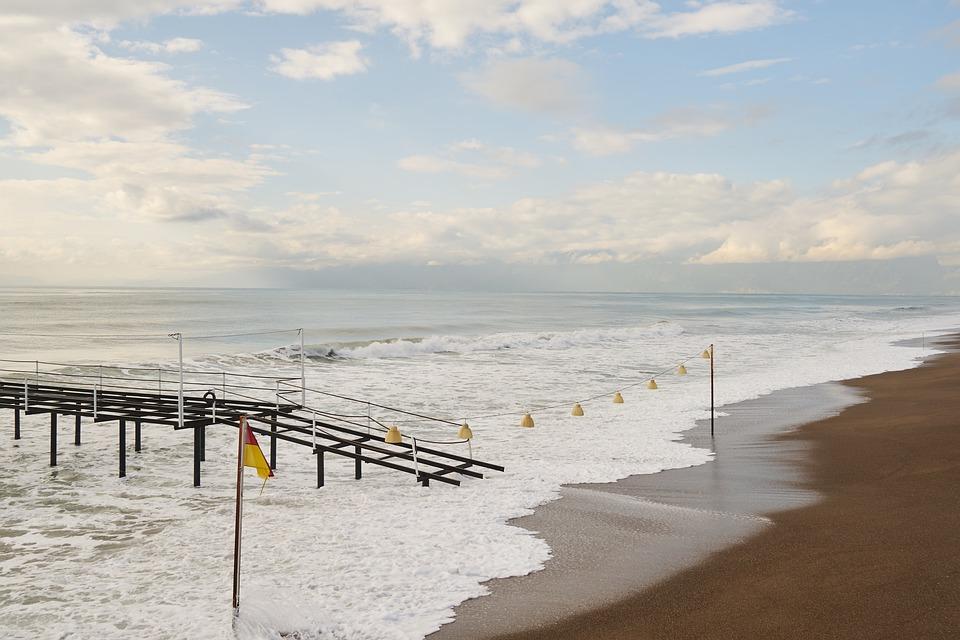Landscape, Marine, Beach, Peaceful, Great, Ocean, Waves