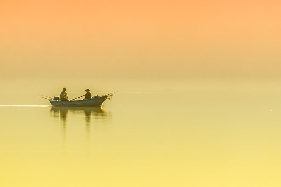 Lake, Boat, Morning, Peaceful, Nature, Water