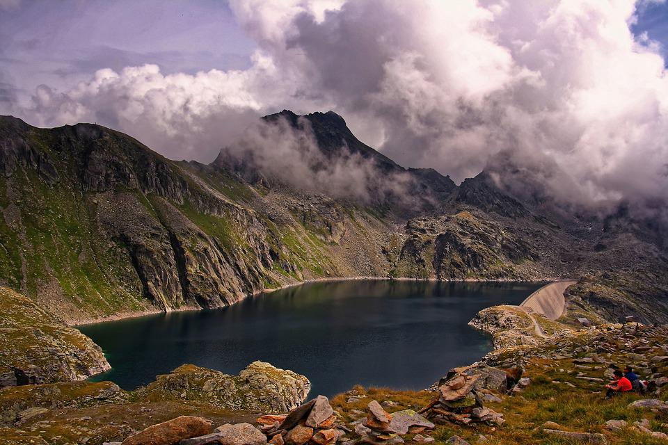 Landscape, Nature, Sky, Mountains, Peaceful, Mood