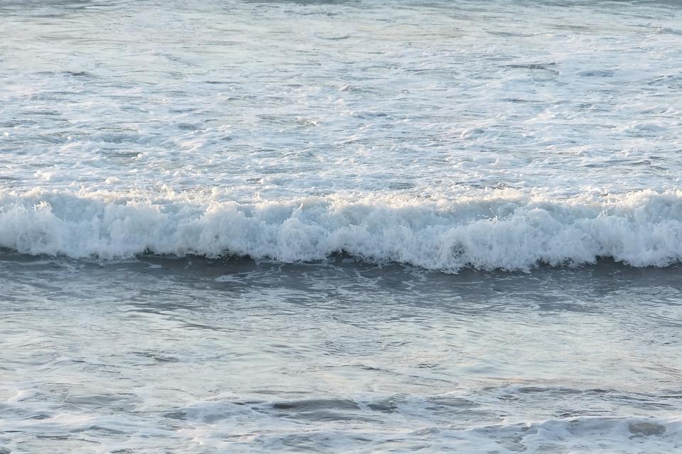Peaceful, Ocean, Currents