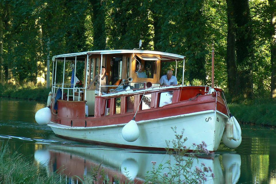 Boat, Channel, Boating, Tourism, Outdoor, Peaceful
