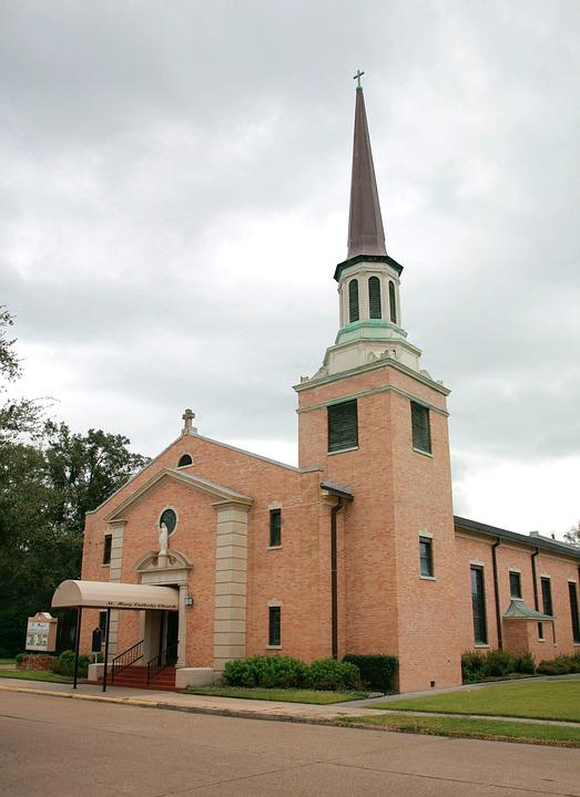 Church, Steeple, Religion, Peach, Architecture