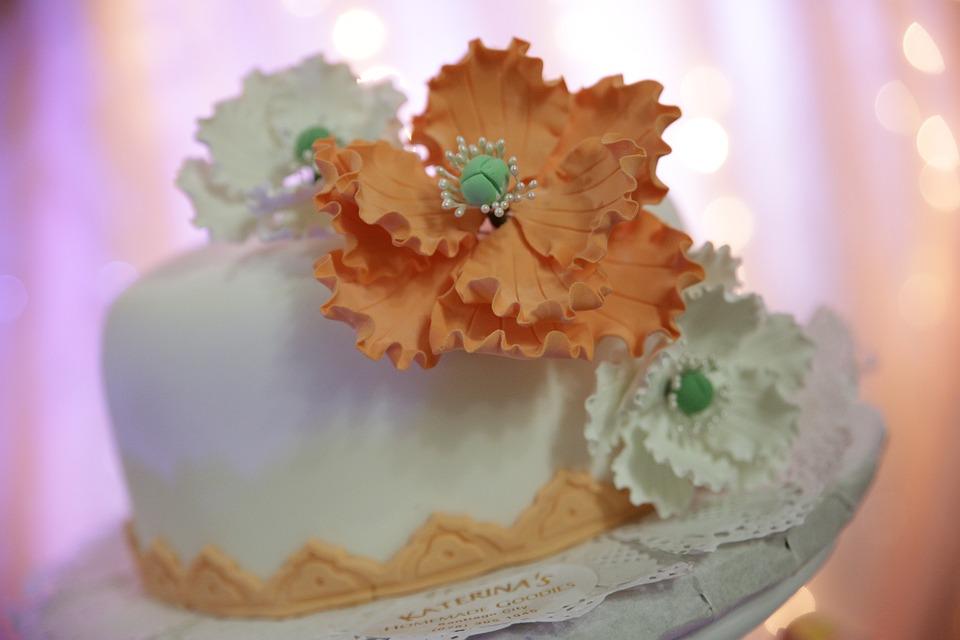 Mehndi Cake Download : Free photo peach cake wedding white max pixel