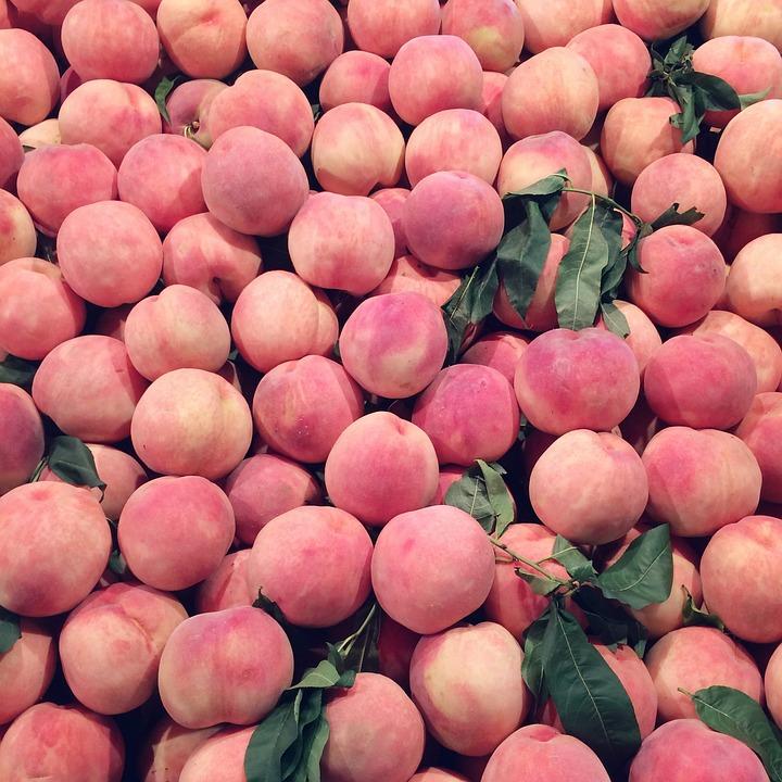 Fruit, Peach, Pink