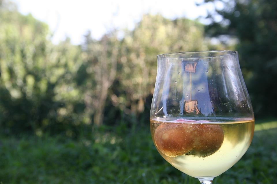 Cocktail, Peach, Garden