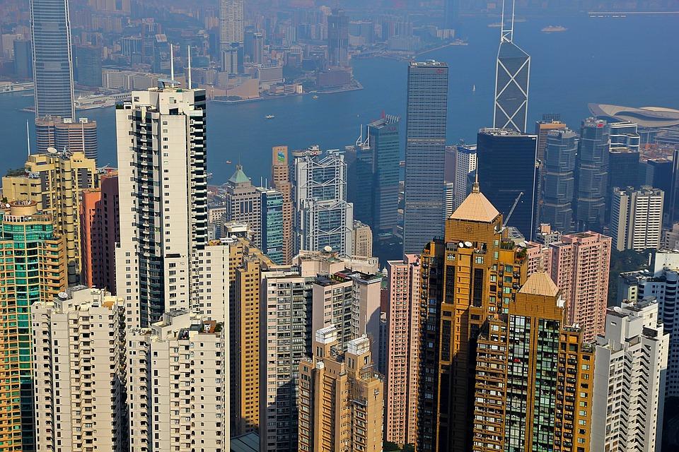 Hong Kong, Peak, City