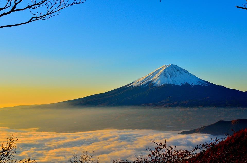 Mountain, Volcano, Countryside, Peak, Summit