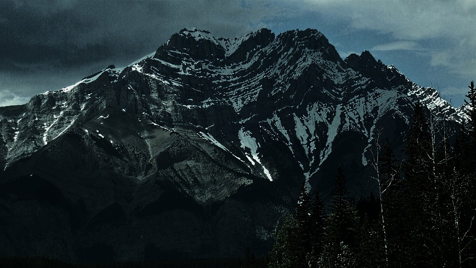 Mountain, Canadian, Rocky, Wilderness, Peak, Outdoors