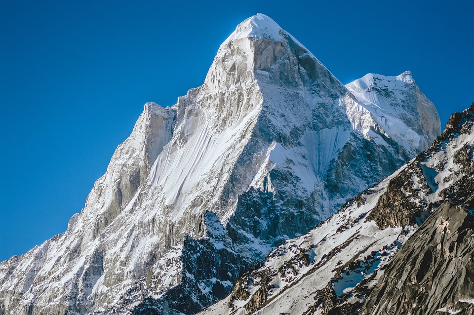 Mountains, Peaks, Snow, Winter, Snowy, Rocks, Rocky