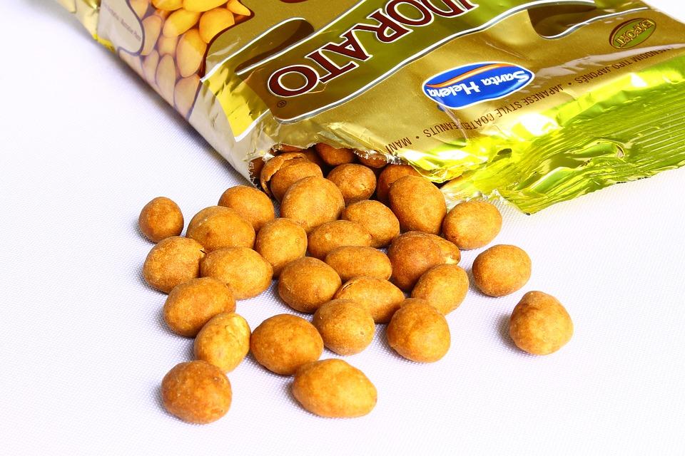 Peanut, Japanese Peanut, Appetizer, Snack, Salgado
